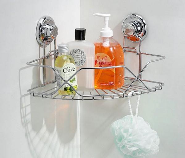 металлическая полка для ванной фото