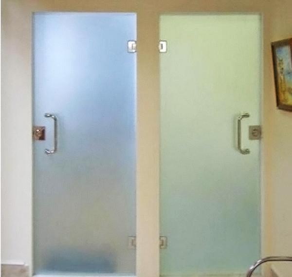виды стеклянных дверей фото