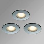 Монтаж точечных светильников в ванной
