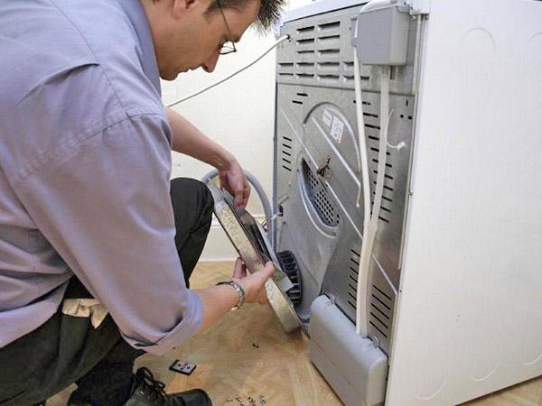 установка стиральной машины в ванной фото