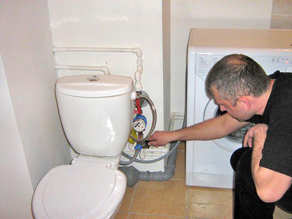как подключить стиральную машину к водопроводу своими руками фото
