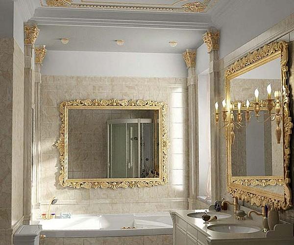 какие использовать материалы для классической ванной