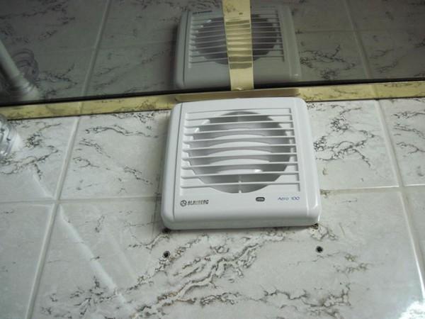 разновидности вентиляторов для ванной и туалета