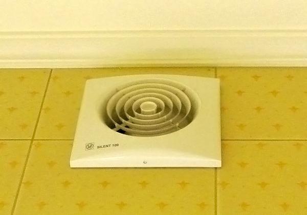 вентилятор для ванной комнаты виды и их особенности