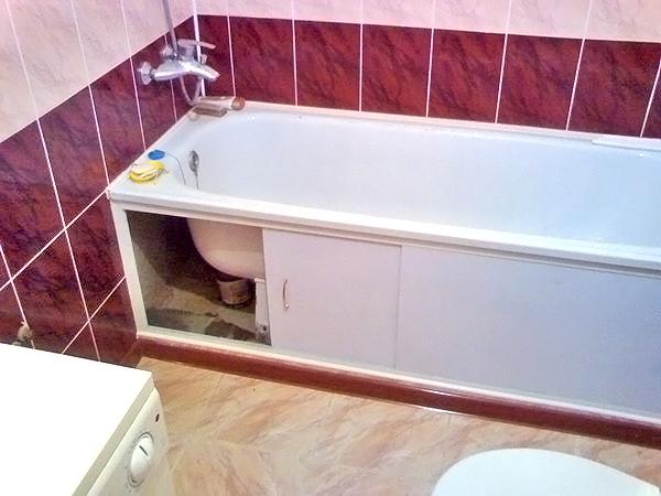 экран под ванную фото