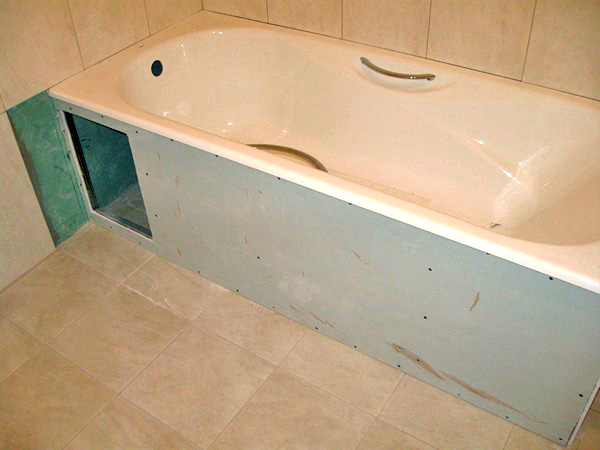 применение водостойкого гипсокартона для ванной