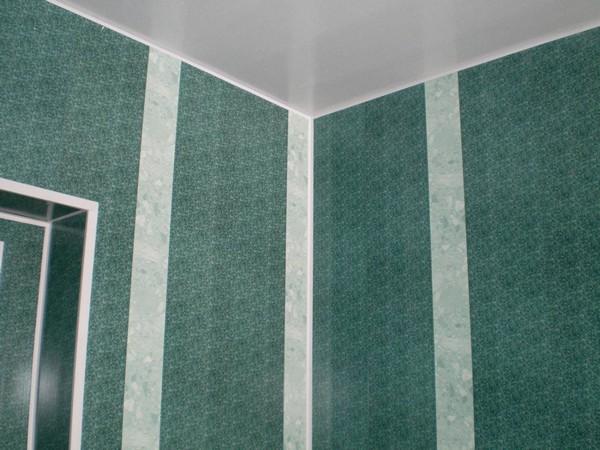 монтаж стеновых панелей в ванной своими руками
