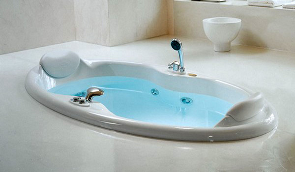 ванна овальная встраиваемая фото