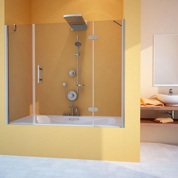 распашная шторка для ванны фото