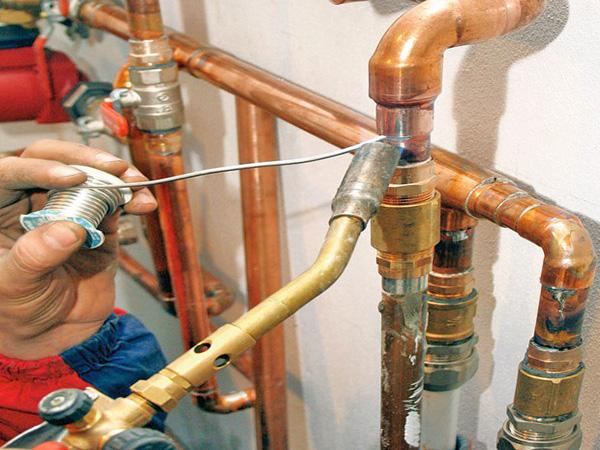медные трубы для водопровода фото