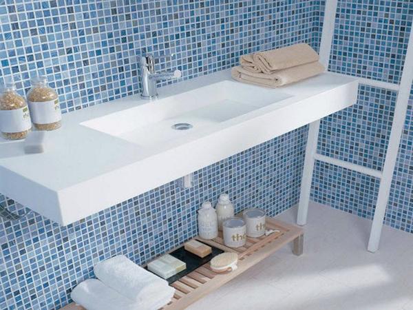 керамическая мозаика для ванной фото