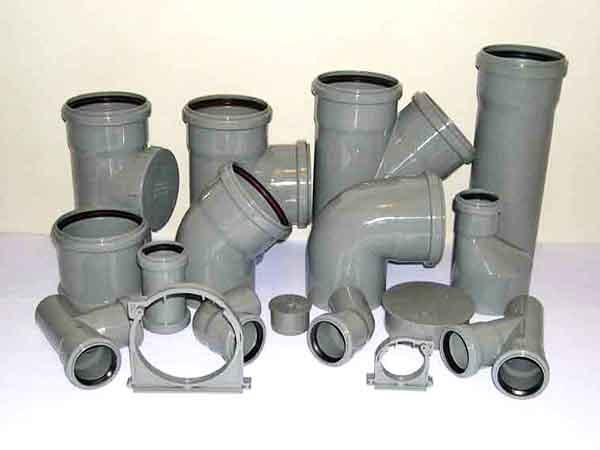 какие должны быть размеры пластиковых труб для канализации