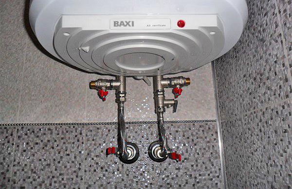подключение водонагревательного бака своими руками