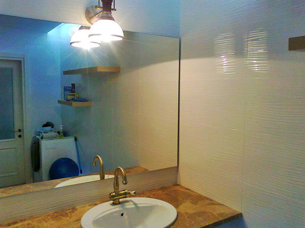 как изготовить зеркало с подсветкой