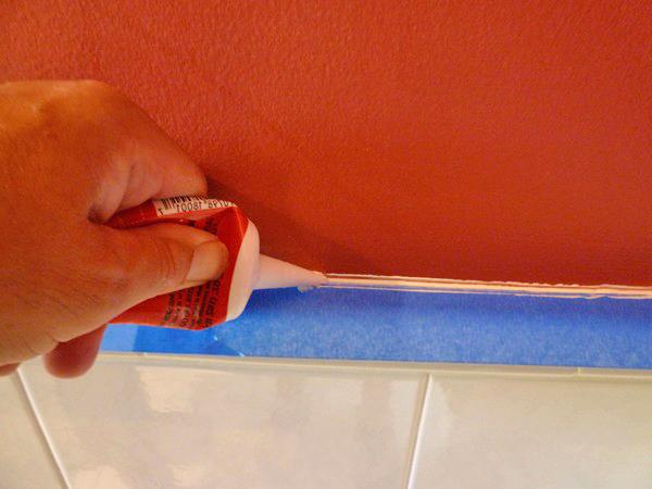 заделка швов между ванной и стеной фото
