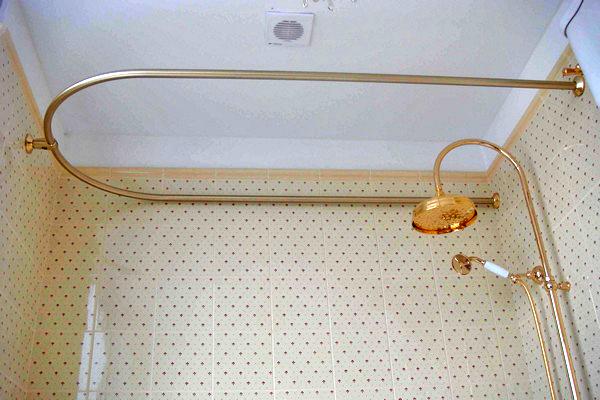 карниз для ванной фото