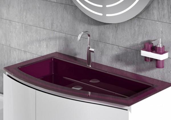 раковина для ванной из камня фото