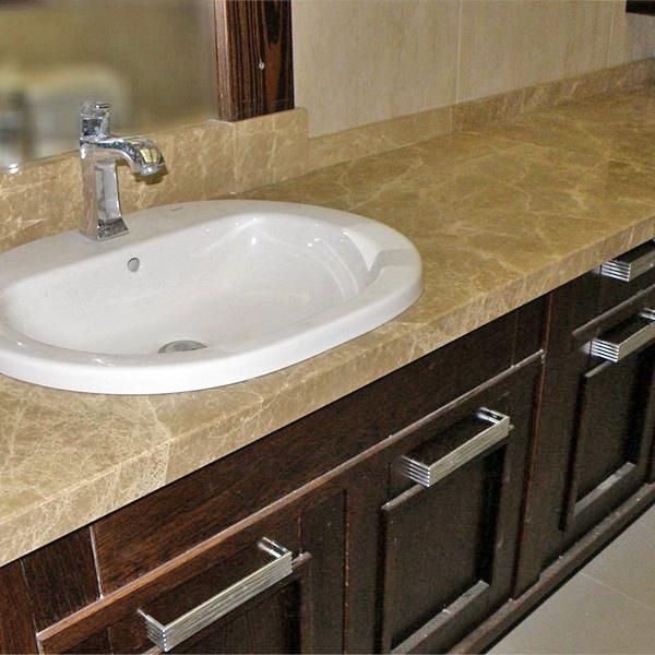 столешница для ванной из искусственного камня фото