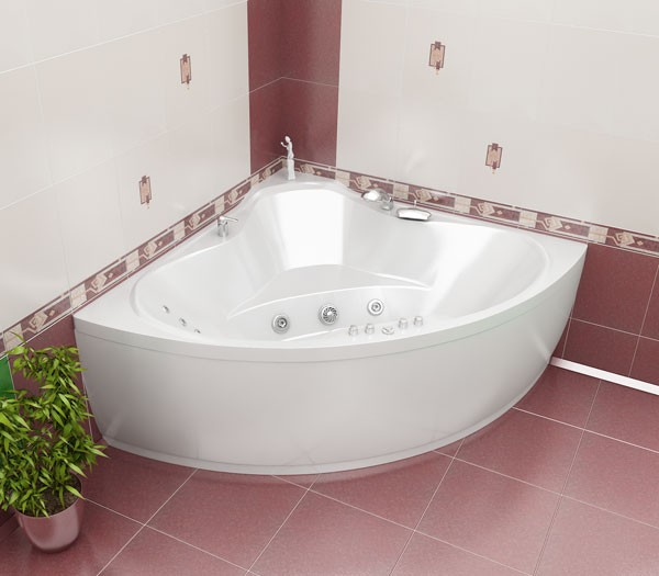 ванна угловая фото