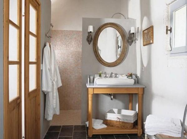 как оформить ванную в стиле прованс