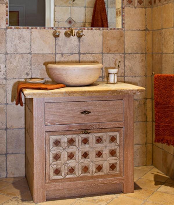 мебель для ванной прованс фото