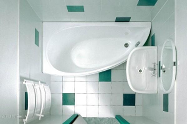 в каком стиле оформить совмещенную ванную с туалетом