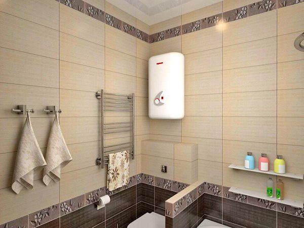 Как установить водонагреватель в ванной: нестандартный подход к вопросу индивидуального горячего водоснабжения