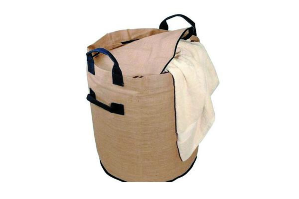 текстильная корзина для белья фото