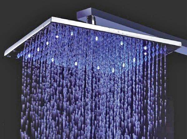 лейка тропический душ с подсветкой фото