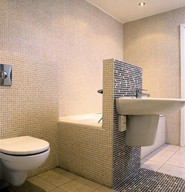 перегородка в ванной из гипсокартона фото