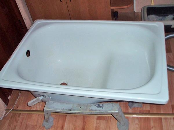 ванна сидячая стальная фото