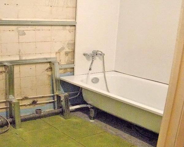 совмещенный санузел с ванной фото