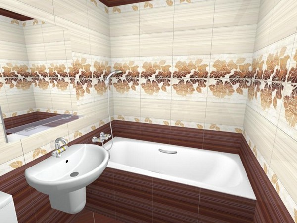 как выбрать кафель в ванную комнату