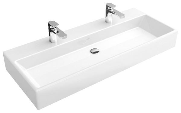 как установить двойной умывальник в ванной