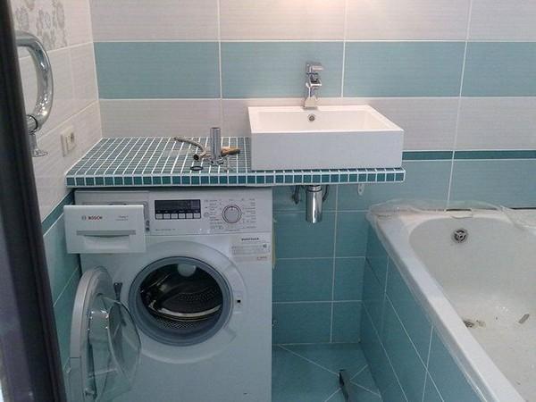 Раковина на стиральную машину: преимущества, недостатки и особенности установки