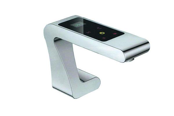 сенсорный смеситель для умывальника фото