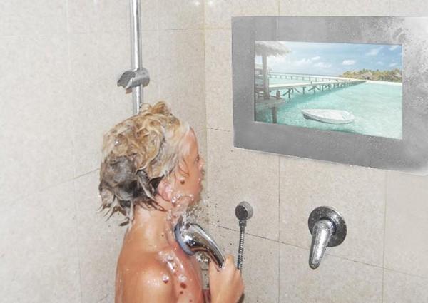 как установить влагостойкий телевизор в ванной