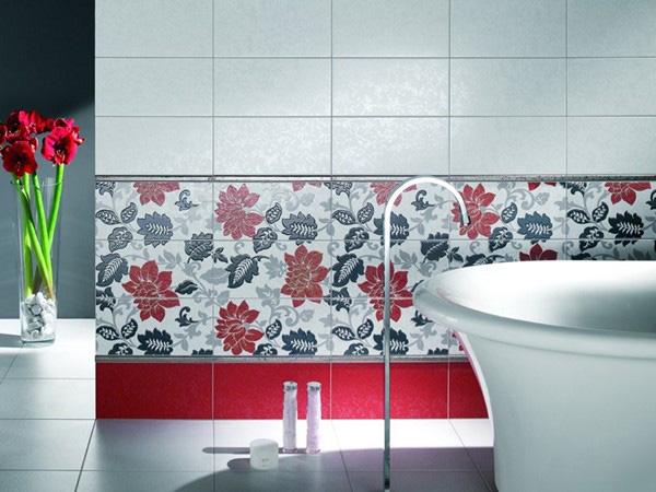 Варианты укладки плитки в ванной: способы декорирования помещения и их особенности