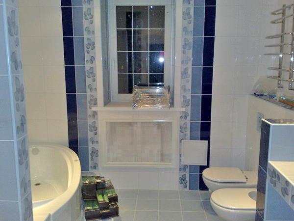 отделка ванной комнаты в частном доме фото