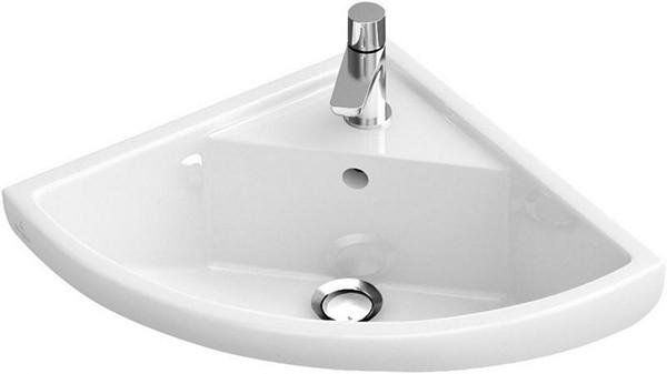 Угловая раковина для ванной: преимущества, разновидности по размерам и материалам