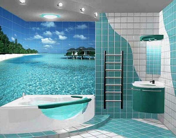фотоплитка в ванную фото
