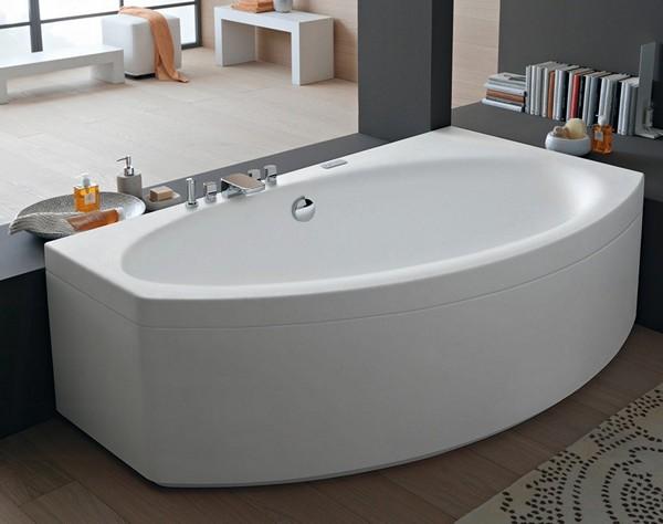 преимущества ассиметричных ванн