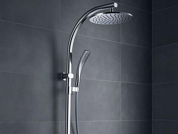 душевая стойка с верхним душем фото