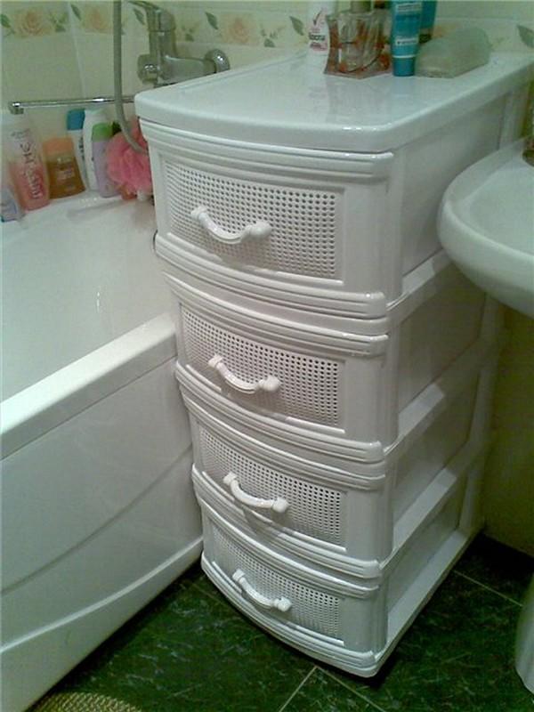 комод в ванную фото