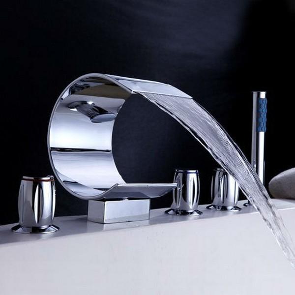 смеситель водопад для ванны фото
