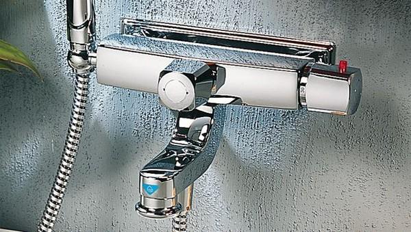 термостатические смесители для ванной фото