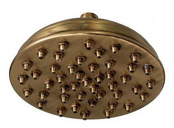 душевая система с верхним душем фото