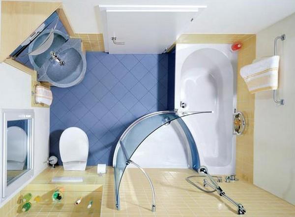интерьер ванной 4 кв м фото