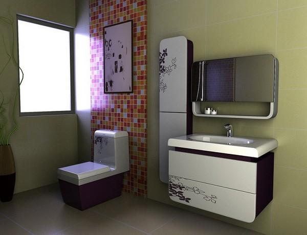 Подвесная тумба для ванной: как выбрать и как установить