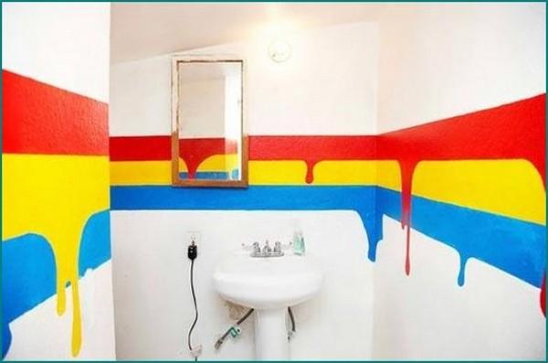 самоклеющаяся пленка для стен в ванной фото